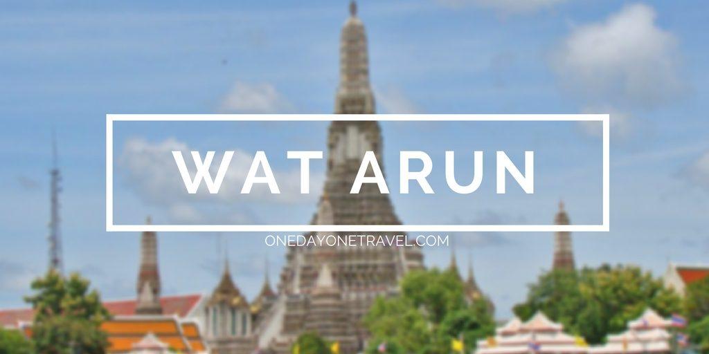 Wat Arun bangkok blog voyage thailande