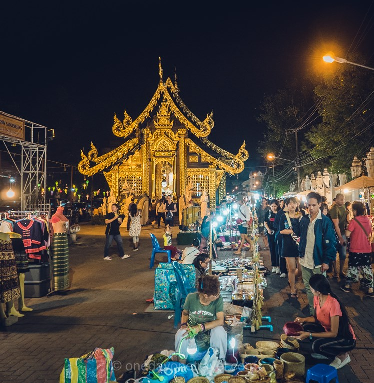 Chiang Mai marché du dimanche