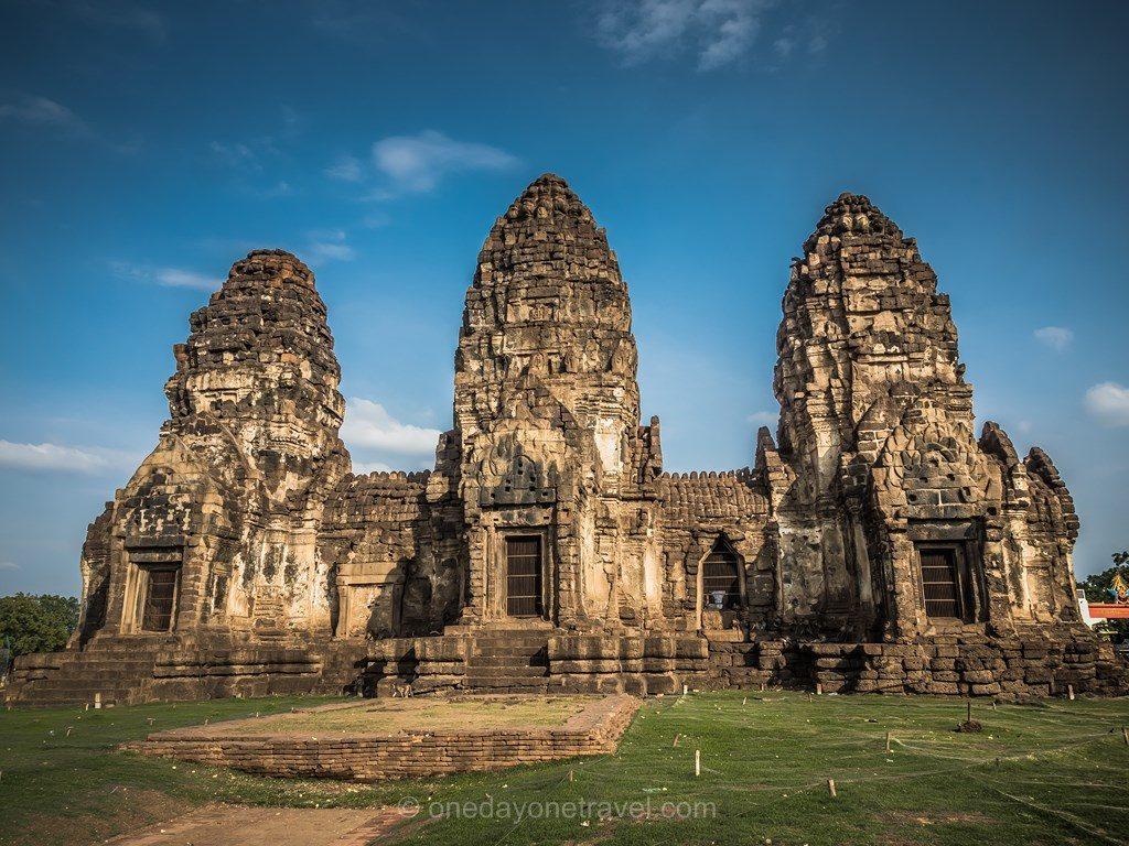 Lopburi temple Thaïlande