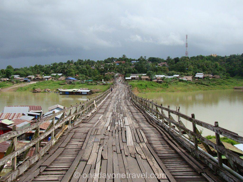 Sangklaburi Thaïlande Blog Voyage OneDayOneTravel