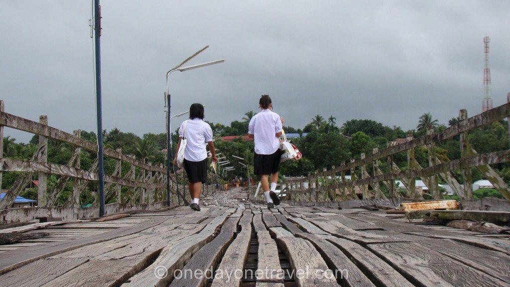 Sangklaburi Thaïlande pont Blog Voyage OneDayOneTravel
