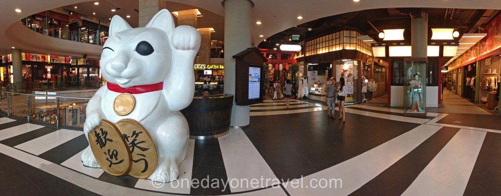 Terminal21 étage Tokyo