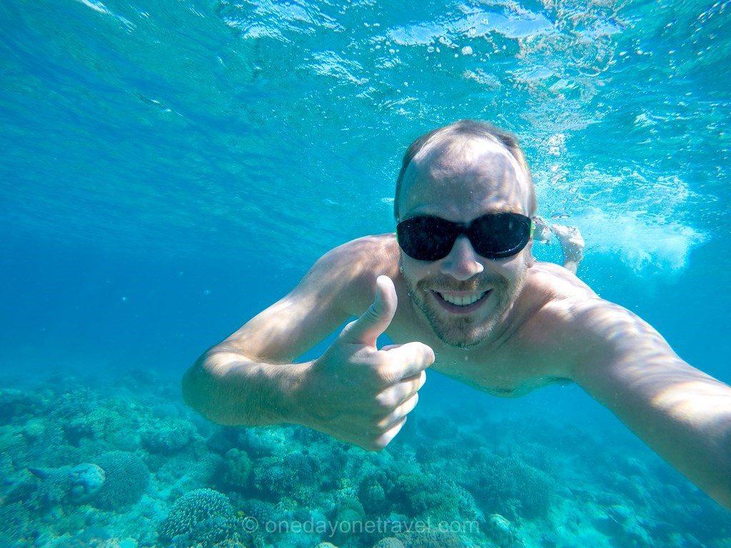 Voyager à Bali Indonésie apnée fond marin Richard
