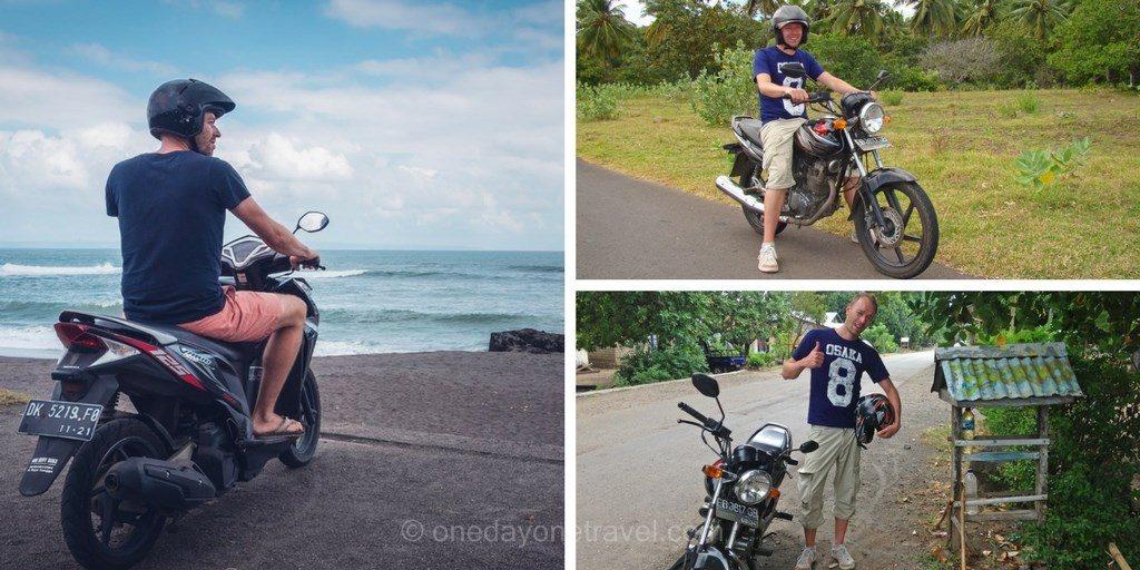Circuler à Bali en scooter