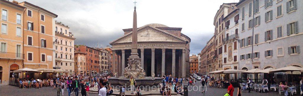 Visiter Rome et le Panthéon