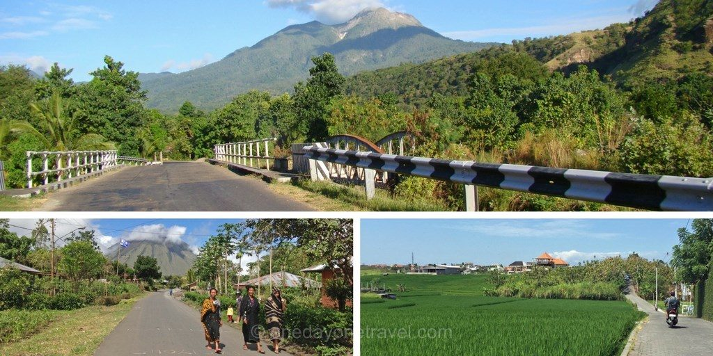 Visiter Bali routes