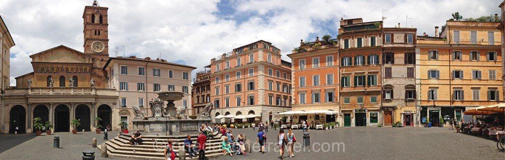 Visiter Rome et le quartier Trastevere