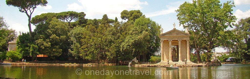 Visiter Rome et le Parc Borghese