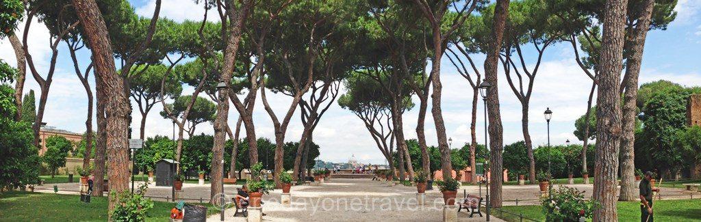Visiter Rome et le quartier Aventino