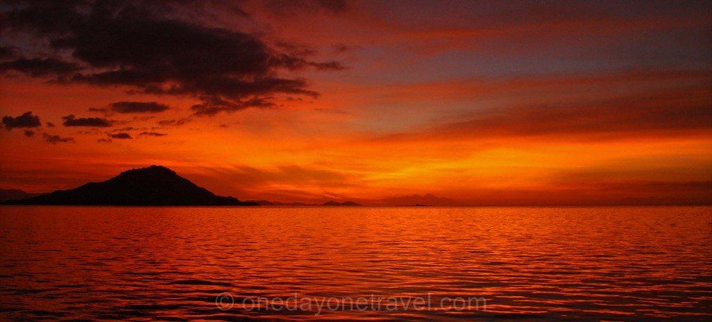 Coucher de soleil Kanawa Island
