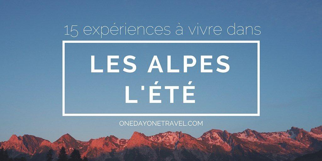 15 expériences vancances alpes