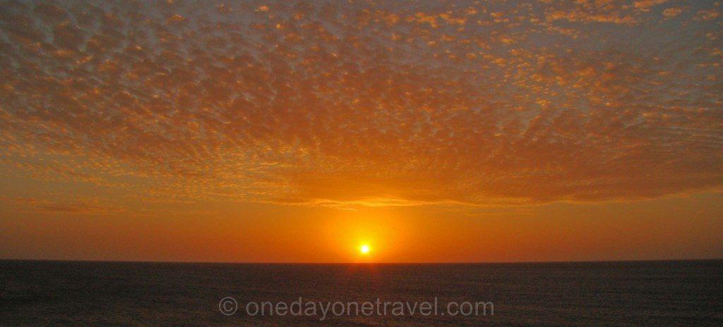 Coucher de soleil dune de Jeri brésil