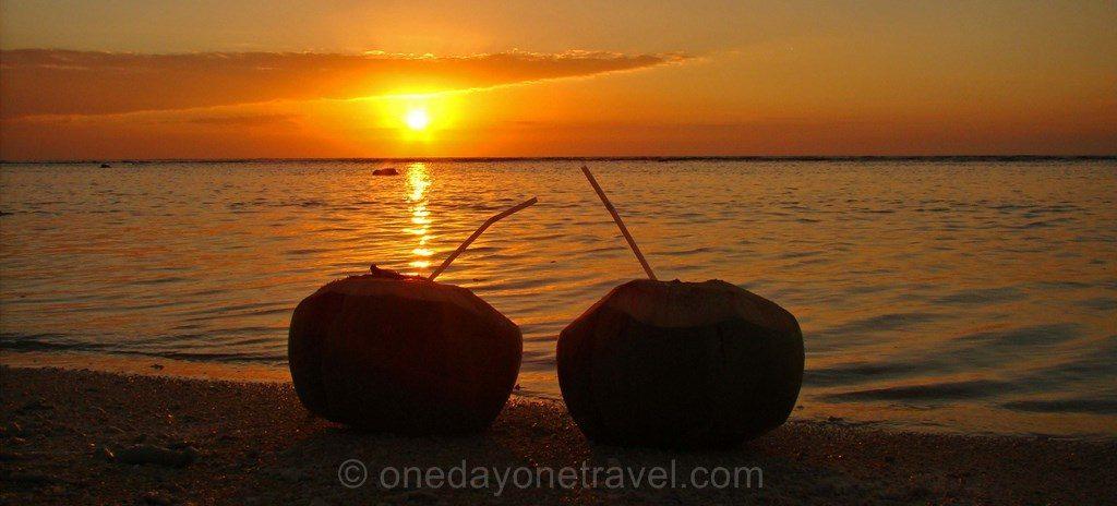 Coucher de soleil Thaïlande Koh Tao