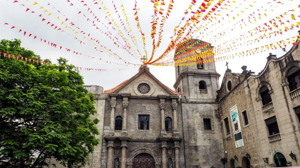 Manille architecture église