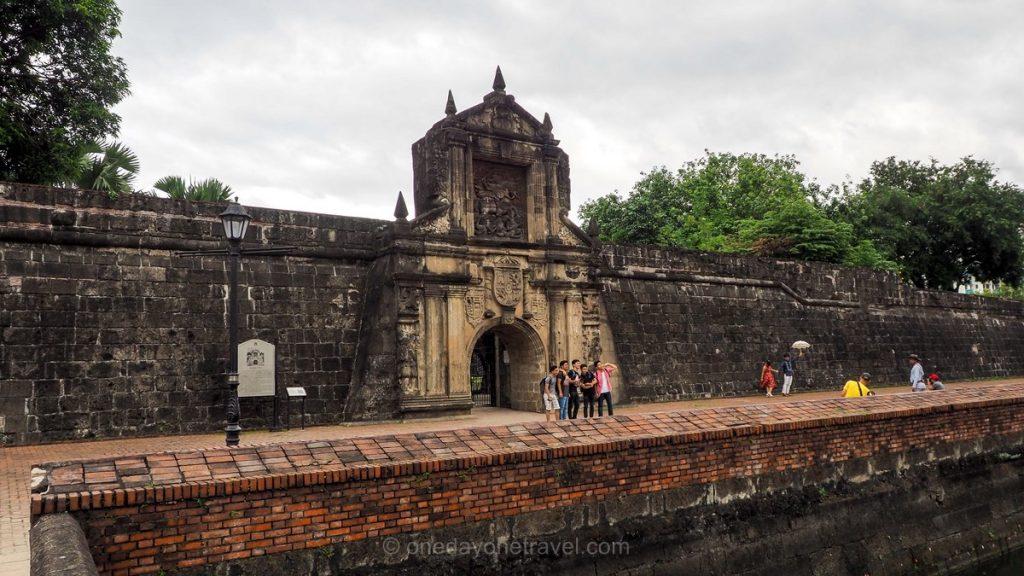 Visiter Manille et le fort Santiago