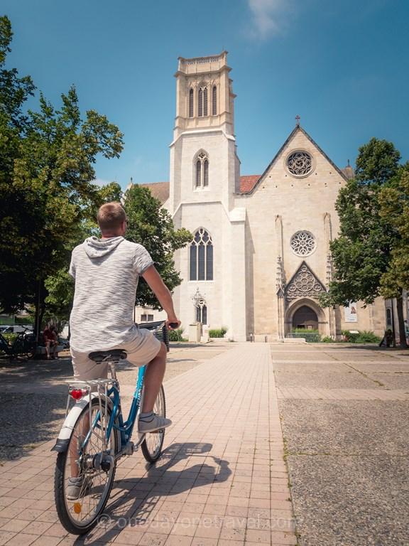 Agen cathédrale vélo Richard