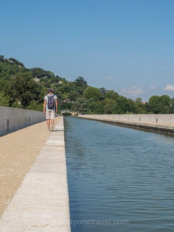 Agen Pont Canal à pied