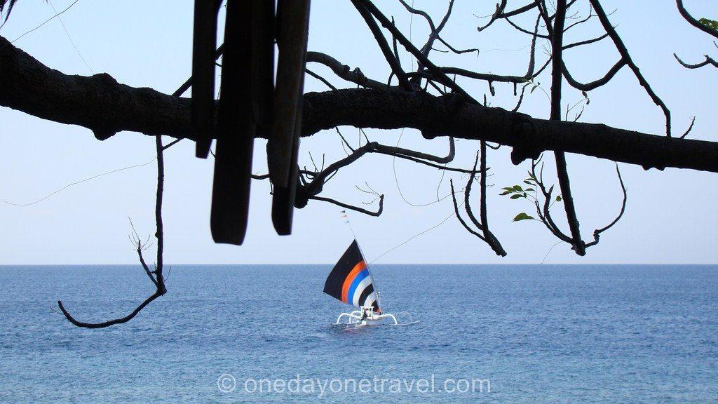 Amed et ses bateaux traditionnels - Vue depuis le Good Karma