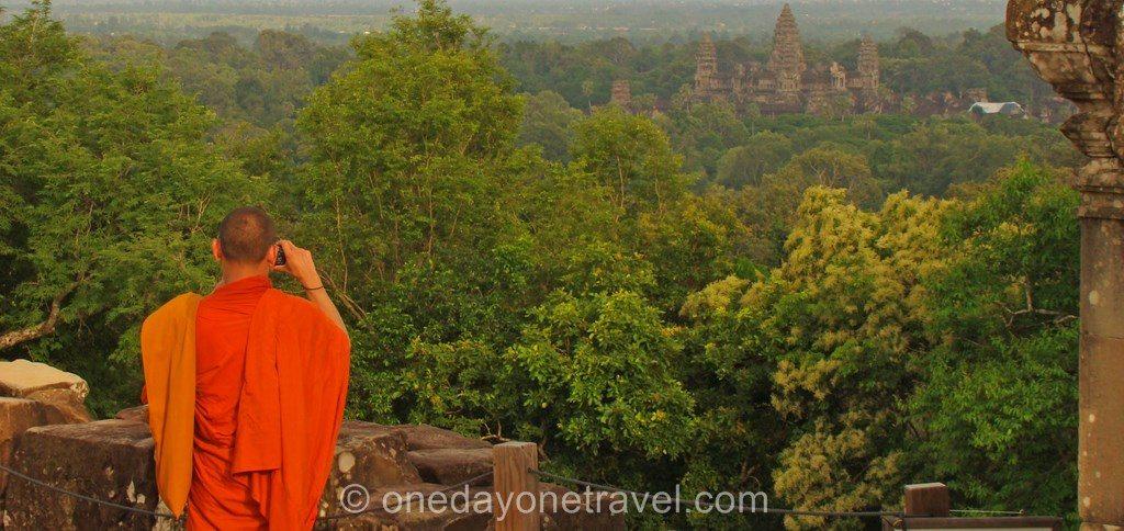 Angkor Vat blog voyage colline 01