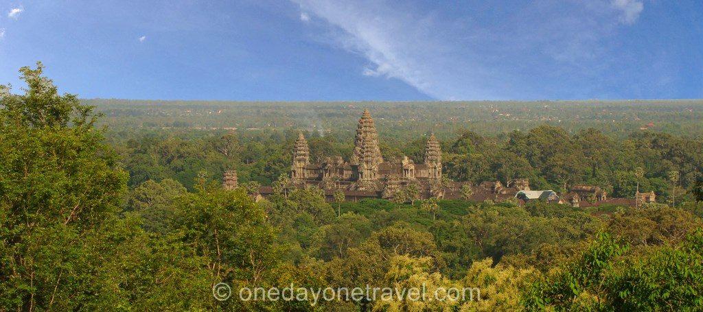 Angkor Vat blog voyage colline 02