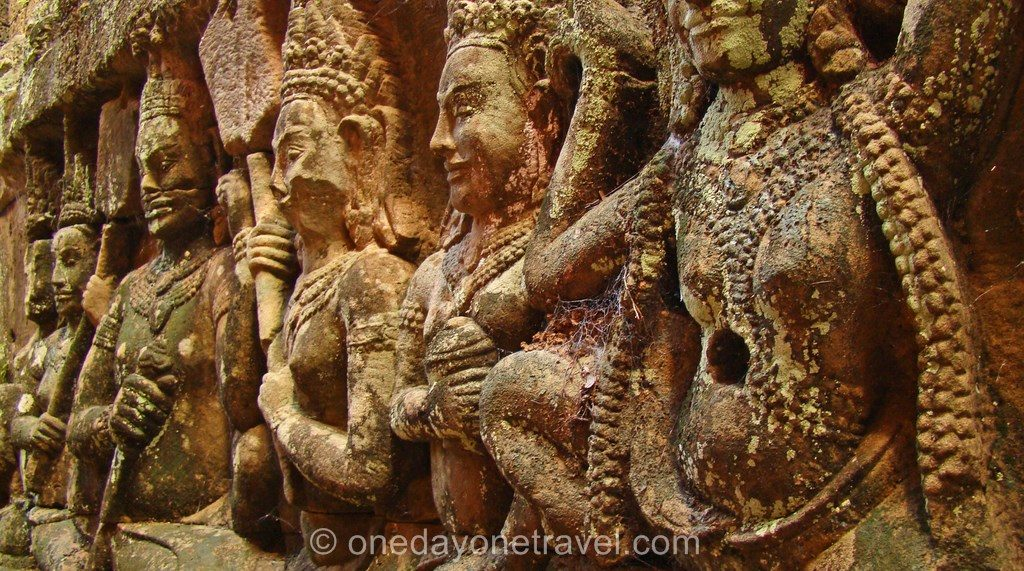 Angkor temple Elephant