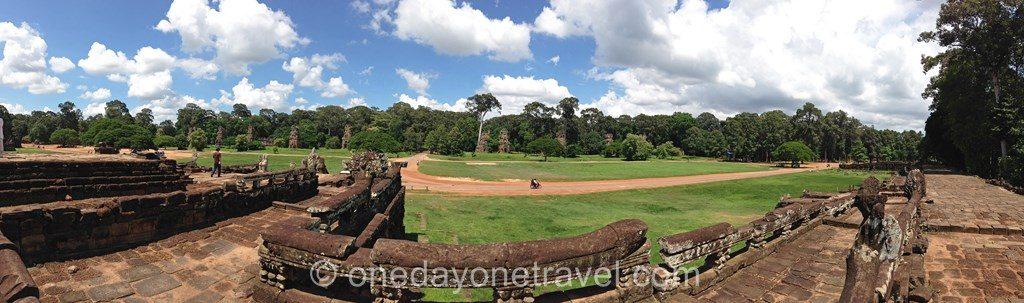 Angkor temple Elephants