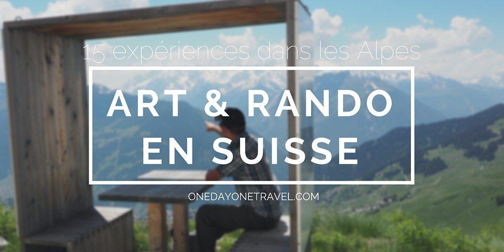 Art randonner suisse blog voyage