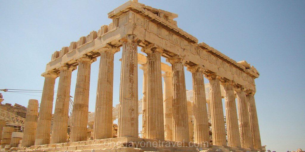 Athènes Acropole Parthenon