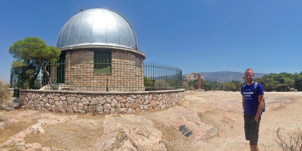 Athènes colline muses observatoire richard