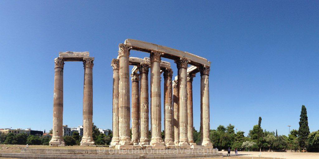 Athenes Temple de Zeus