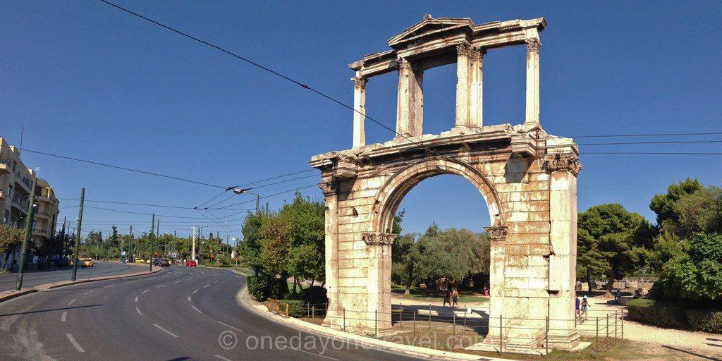 Athenes porte Hadrien