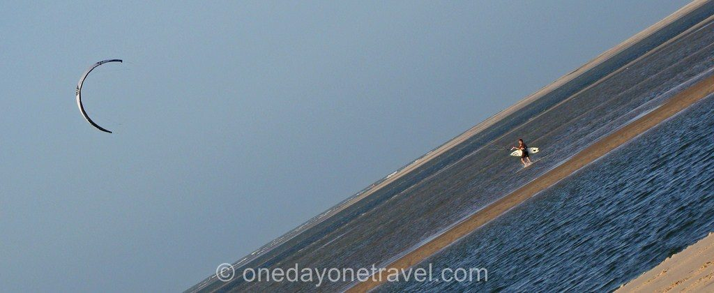 Atins Lençois bresil voyage kite surf
