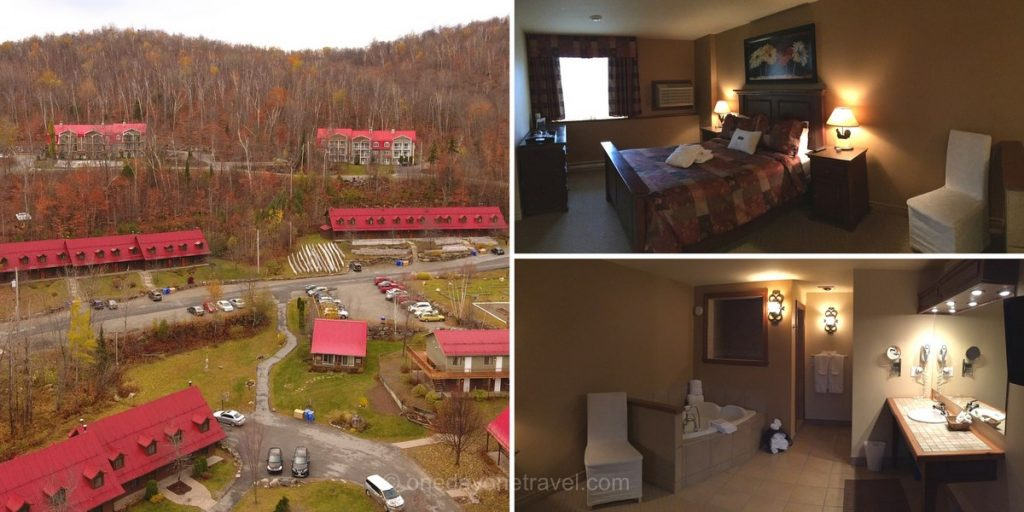 Auberge Morency Laurentides chambre