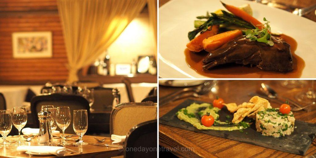 Auberge Morency Laurentides restaurant