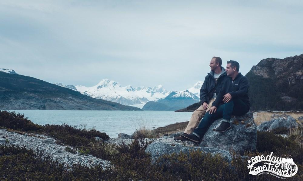 Australis croisière Patagonie Franck et Richard