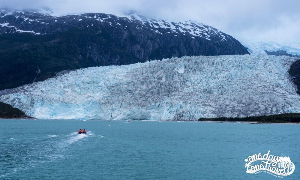 Australis croisière Patagonie glacier Pia zodiac