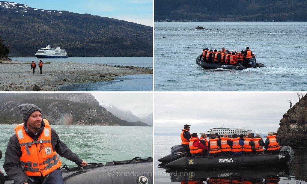 Australis croisiere en Terre de Feu Patagonie expédition en zodiac