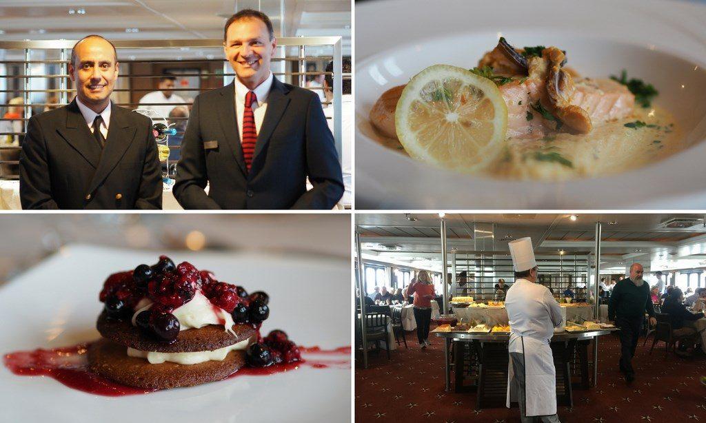 Australis croisiere salle de restaurant