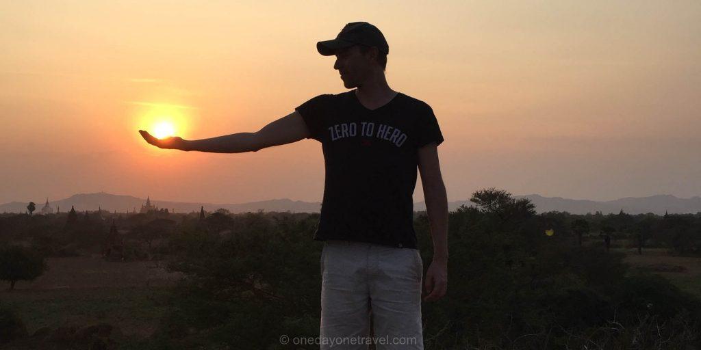 Bagan coucher de soleil richard