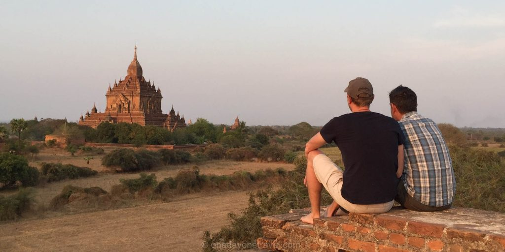 Bagan sunset Birmanie Franck Richard