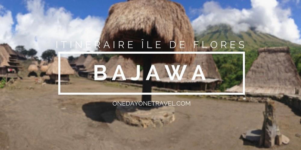 Bajawa itinéraire ile de flores blog voyage indonesie