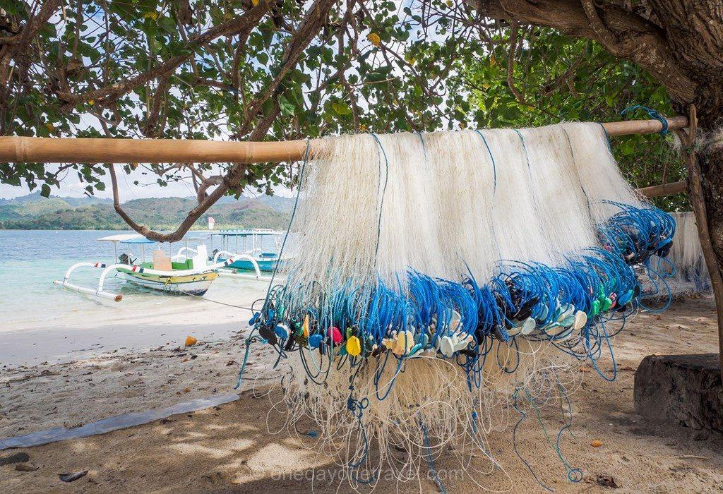 Gili Asahan filet pêche blog voyage Indonésie