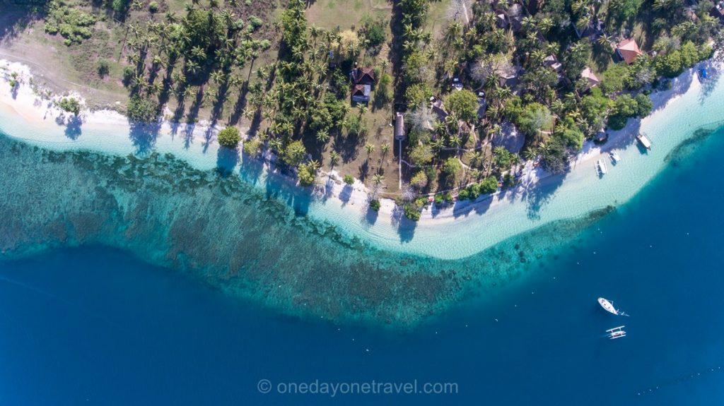 Gili Asahan vue du ciel - Blog Voyage OneDayOneTravel