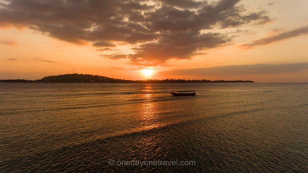 Gili island sunset Indonésie Blog Voyage
