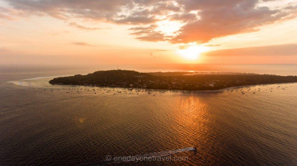Bali Lombok Les Gilis sunset blog voyage
