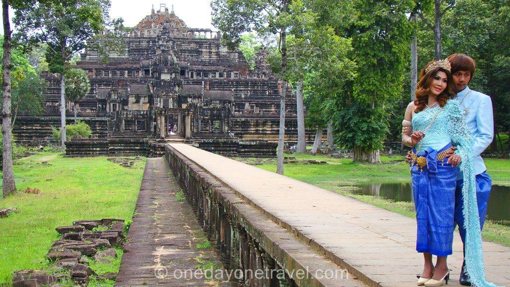 Baphuon Angkor temple mariage