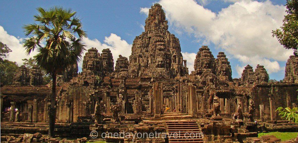Bayon Angkor temple Cambodge Blog Voyage