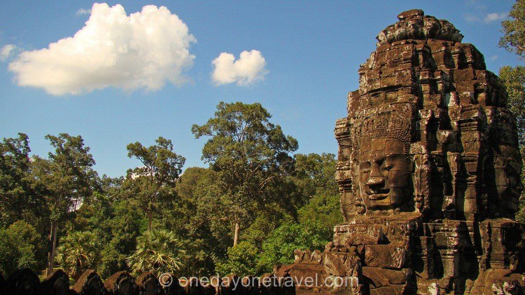 Bayon Angkor temple