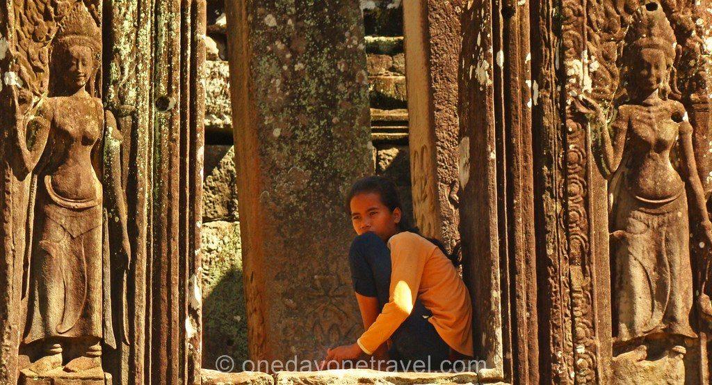 Bayon Angkor temple cambodgienne