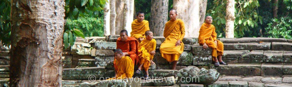 Bayon Angkor temple blog voyage pano